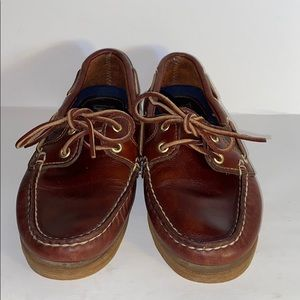 Timberland Leather Boat Shoes Top Siders Size 36